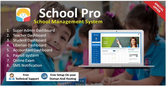 School ERP Clone Script for your Business